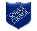 Shield Badges 'SCHOOL COUNCIL' Blue (Pk. 5)