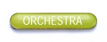 Tube Badge 'ORCHESTRA' Yellow (Pk. 5)