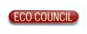 Tube Badge 'ECO COUNCIL' Red (Pk. 5)