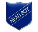 Shield Badge 'HEAD BOY' Blue (Pk. 5)