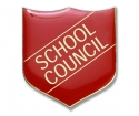 Shield Badges 'SCHOOL COUNCIL' Red (Pk. 5)