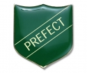 Shield Badge 'PREFECT' Green (Pk. 5)