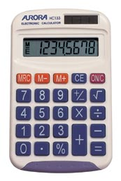Aurora HC133 Basic Calculator