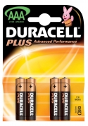 Duracell AAA Batteries (Pk 4)