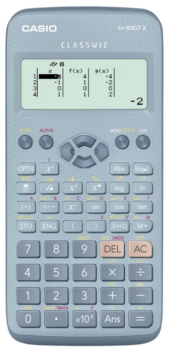 NEW CASIO FX83GTX Scientific Calculator BLUE